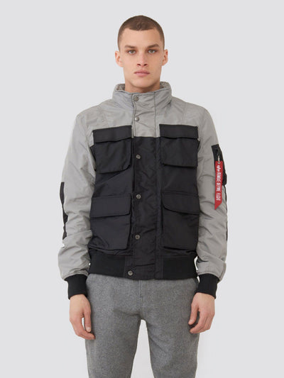 COMPOUND UTILITY JACKET SALE Alpha Industries BLACK 2XL