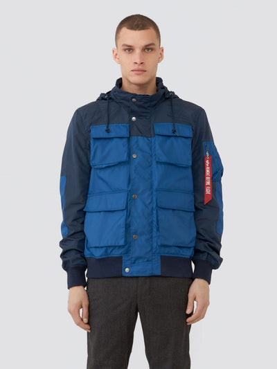 COMPOUND UTILITY JACKET SALE Alpha Industries BLUE NO. 9 2XL