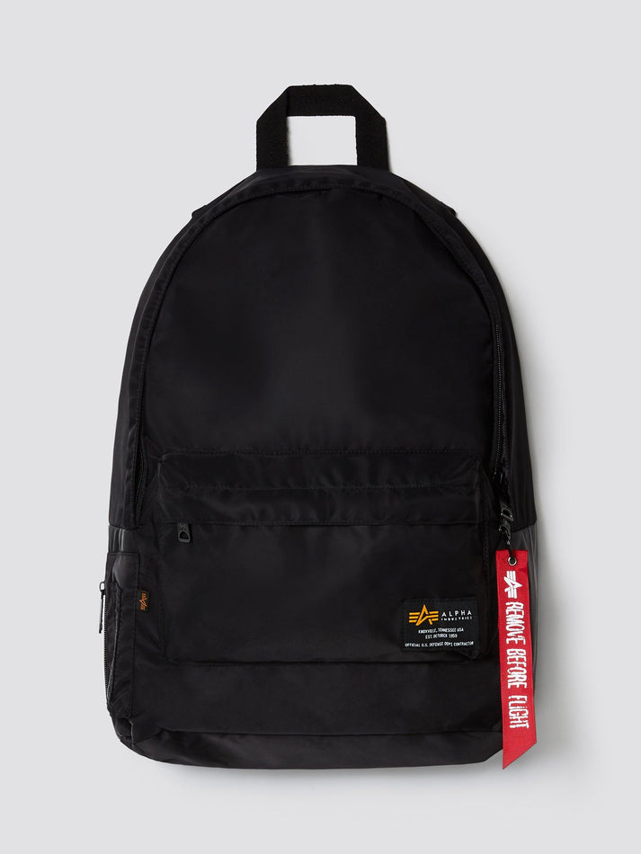 CREW BACKPACK ACCESSORY Alpha Industries, Inc. BLACK O/S