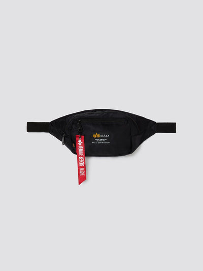 CREW WAIST BAG ACCESSORY Alpha Industries, Inc. BLACK O/S