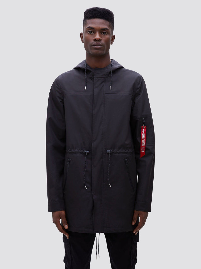 DELUGE RIPSTOP FISHTAIL SALE Alpha Industries BLACK 2XL