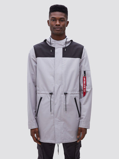 DELUGE RIPSTOP FISHTAIL SALE Alpha Industries NEW SILVER 2XL