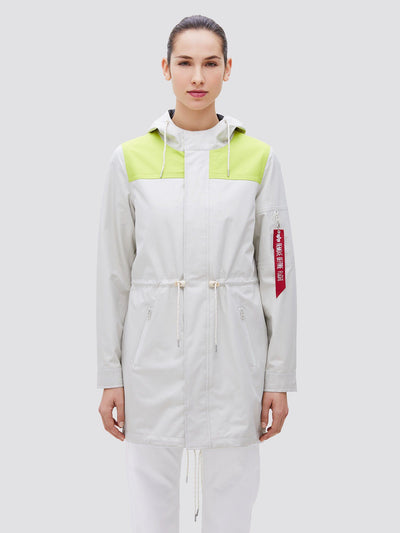 DELUGE RIPSTOP FISHTAIL W SALE Alpha Industries VINTAGE WHITE L