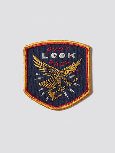DON'T LOOK BACK HAS HEART X ALPHA PATCH ACCESSORY Alpha Industries NO COLOR O/S