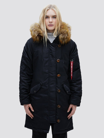 ELYSE OUTERWEAR Alpha Industries BLACK L