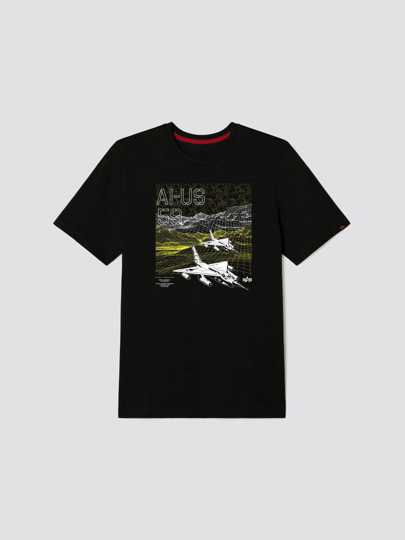 EXCLUSIVE AI-US 59 TEE TOP Alpha Industries, Inc. BLACK 2XL
