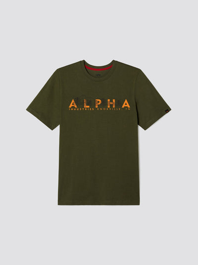 EXCLUSIVE ALPHA MOUNTAIN TEE TOP Alpha Industries, Inc. DEEP OLIVE 2XL