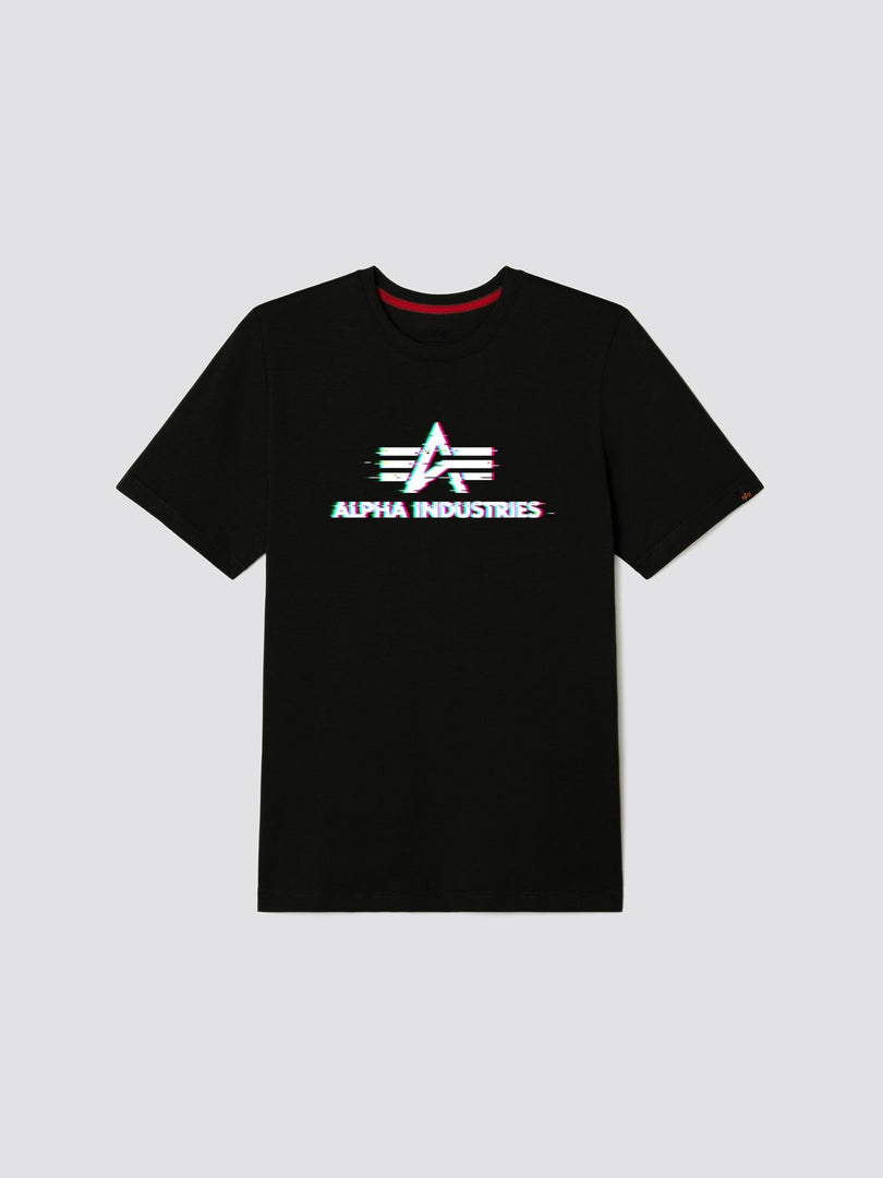 EXCLUSIVE ALPHA STATIC TEE TOP Alpha Industries, Inc. BLACK 2XL