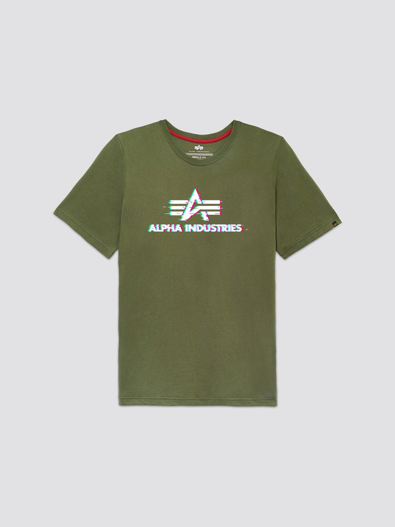 EXCLUSIVE ALPHA STATIC TEE TOP Alpha Industries, Inc. OLIVE 2XL