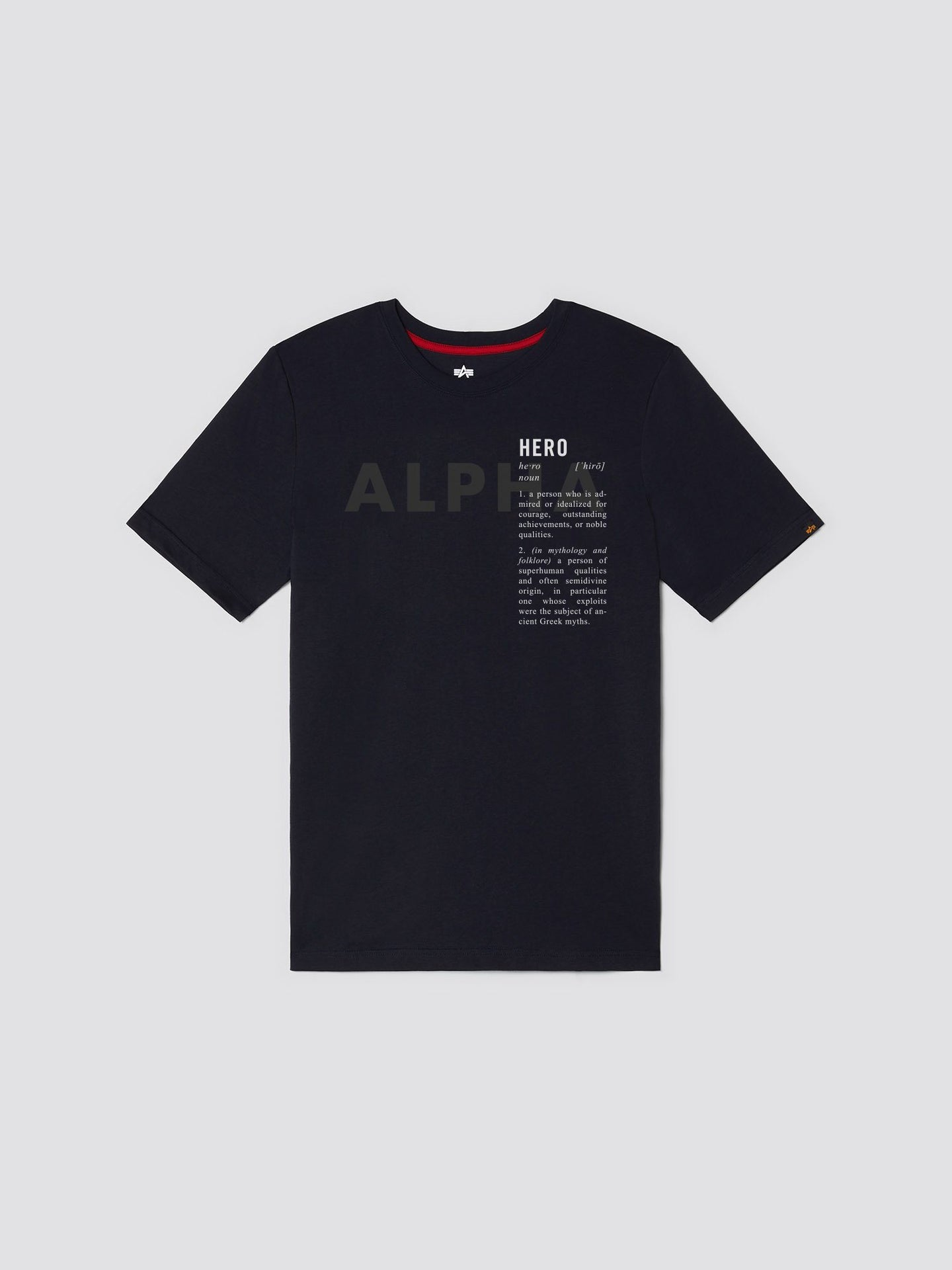 EXCLUSIVE HERO TEE TOP Alpha Industries, Inc. REPLICA BLUE 2XL