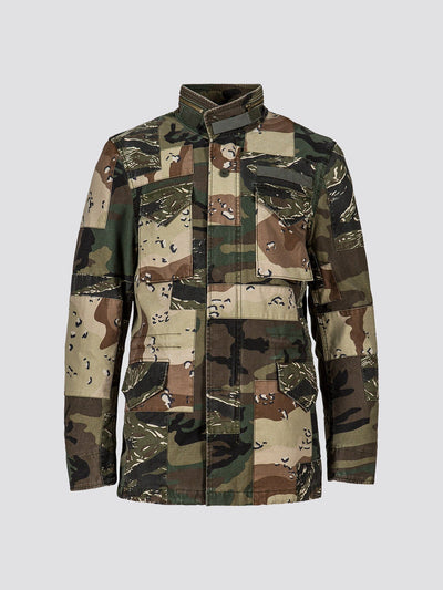 EXCLUSIVE M-65 CONSTRUCT FOR COMPLEXCON OUTERWEAR Alpha Industries MULTI CAMO 2XL