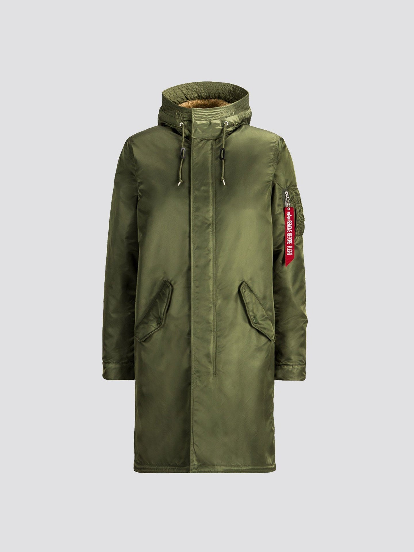 EXCLUSIVE M-65 FISHTAIL WITH SHERPA SALE Alpha Industries SAGE 2XL