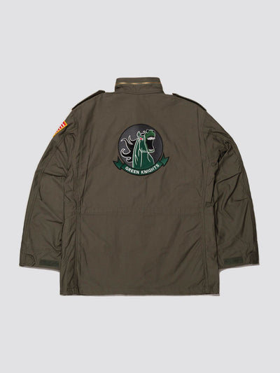 EXCLUSIVE M-65 USMC GREEN KNIGHT FIELD COAT OUTERWEAR Alpha Industries