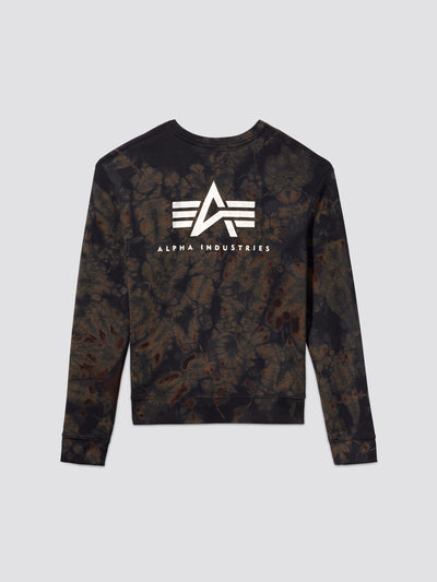 EXCLUSIVE SMALL LOGO DYED CREWNECK TOP Alpha Industries, Inc.