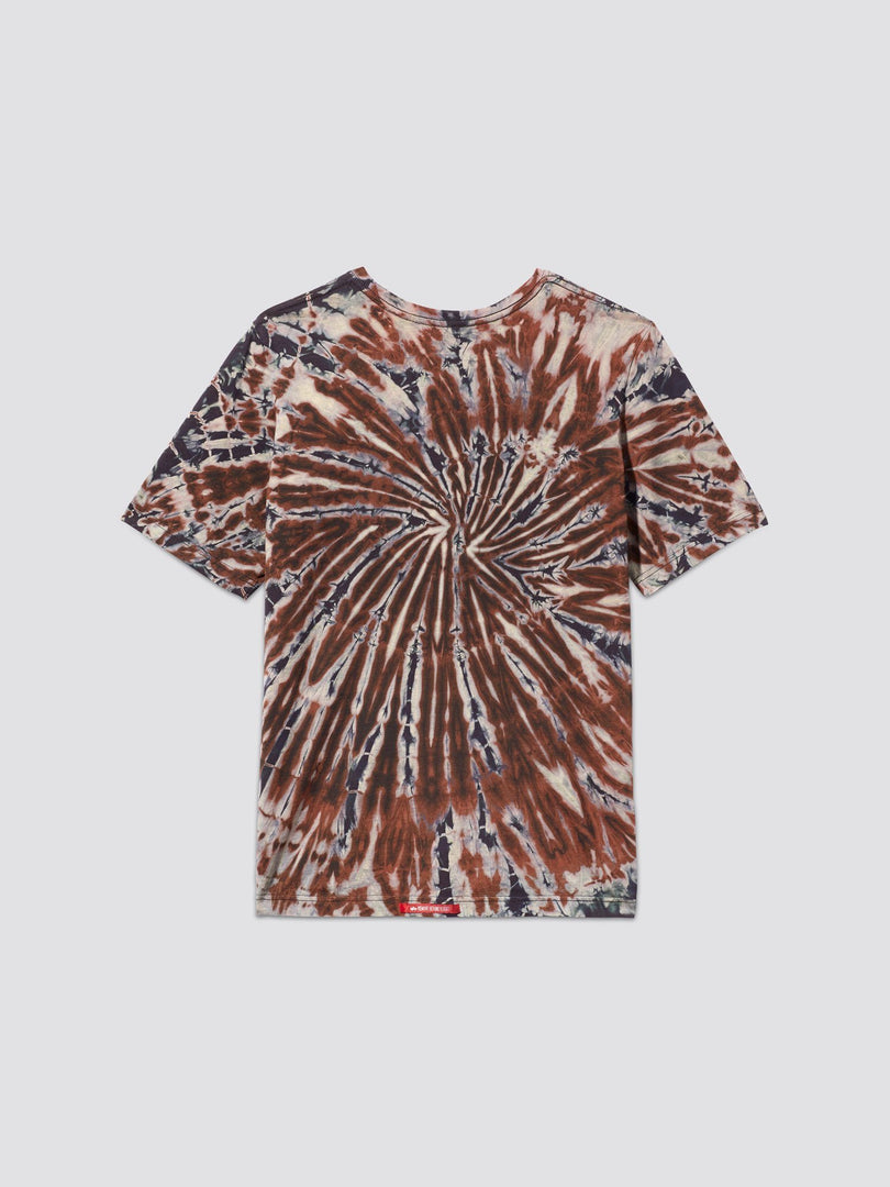 EXCLUSIVE SMALL LOGO DYED TEE TOP Alpha Industries, Inc.
