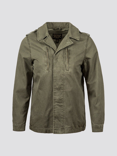 F-2 FRENCH FIELD COAT DECORATED W SALE Alpha Industries