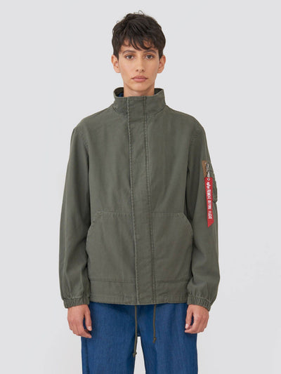 G.I. FIELD COAT W SALE Alpha Industries M-65 OLIVE L
