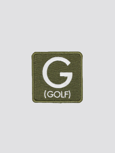 GOLF (G) PATCH ACCESSORY Alpha Industries SAGE GREEN O/S