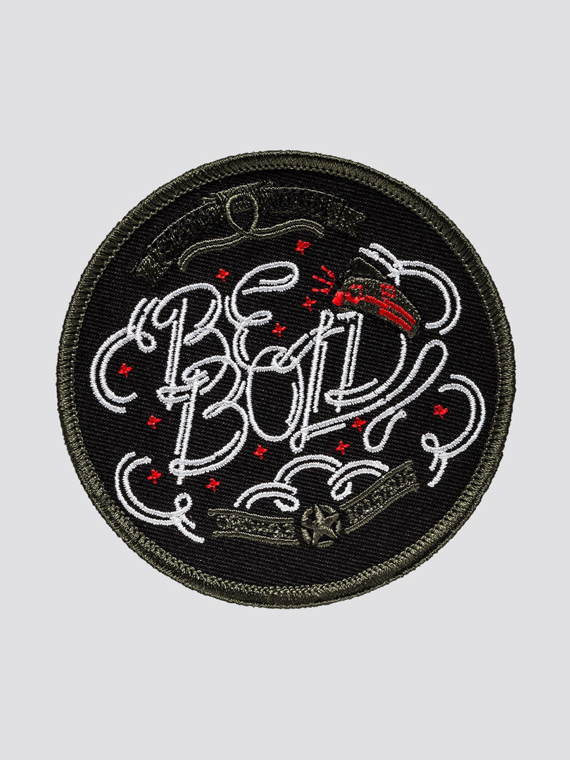 HAS HEART BE BOLD PATCH ACCESSORY Alpha Industries NO COLOR O/S