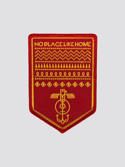 HAS HEART NO PLACE LIKE HOME PATCH ACCESSORY Alpha Industries NO COLOR O/S