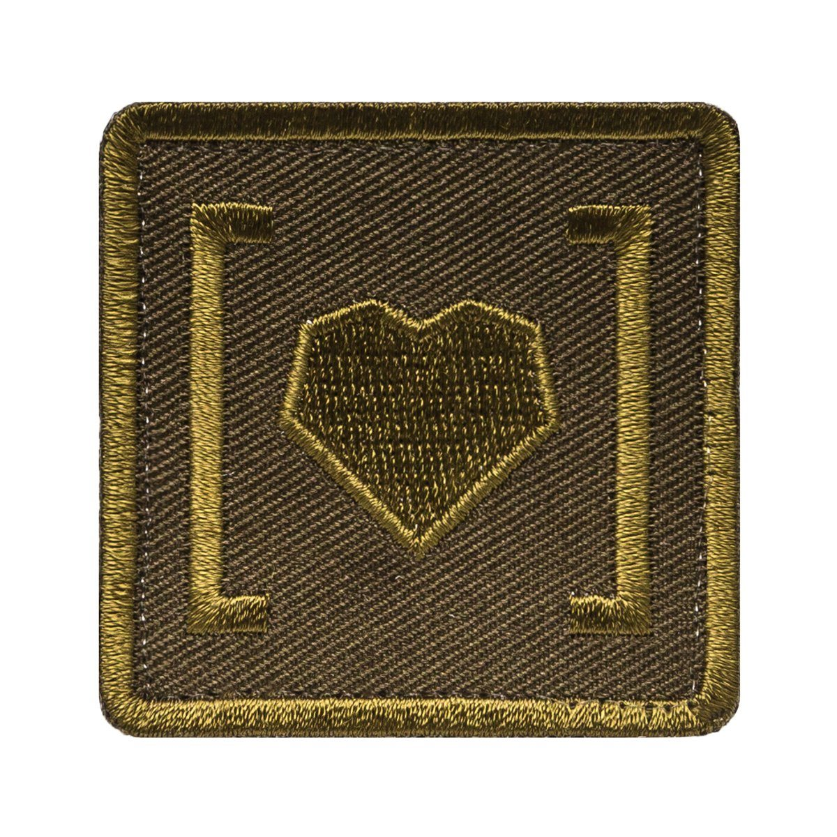 HAS HEART SMALL ICON PATCH ACCESSORY Alpha Industries M-65 KHAKI O/S