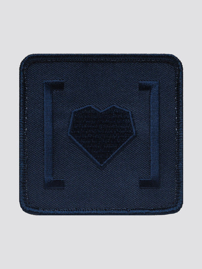 HAS HEART SMALL ICON PATCH ACCESSORY Alpha Industries NAVY O/S
