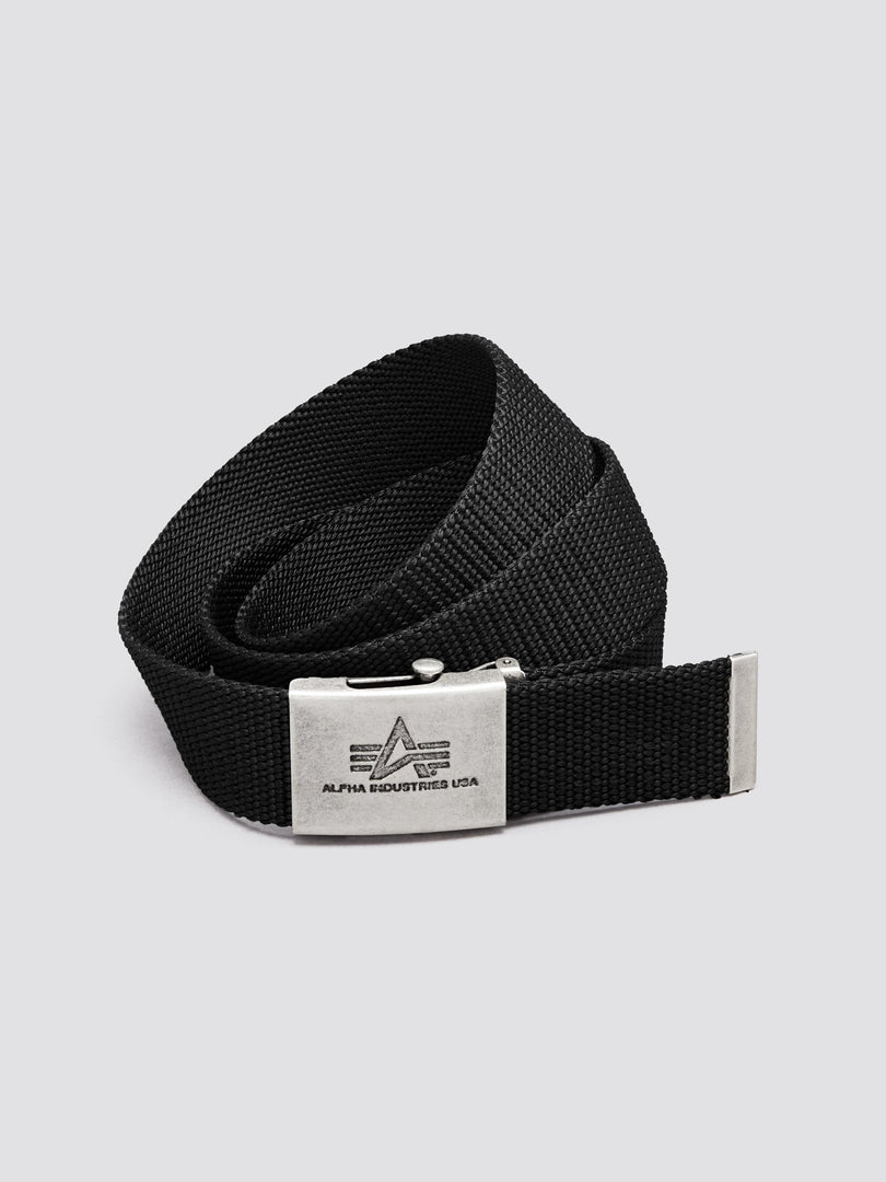 HEAVY DUTY BELT ACCESSORY Alpha Industries, Inc. BLACK O/S