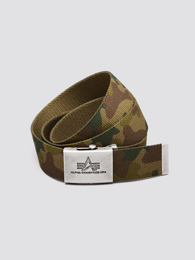 HEAVY DUTY BELT ACCESSORY Alpha Industries, Inc. WOODLAND CAMO O/S