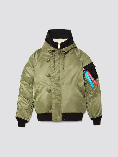 HELINOX X ALPHA N-2B OUTERWEAR Alpha Industries SAGE 3XL