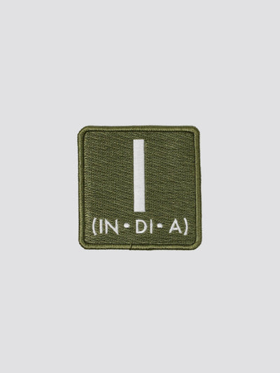 INDIA (I) PATCH ACCESSORY Alpha Industries SAGE GREEN O/S