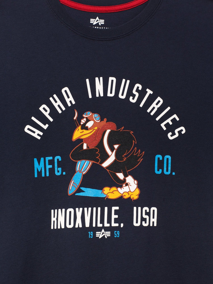 JAYHAWK TEE TOP Alpha Industries, Inc.