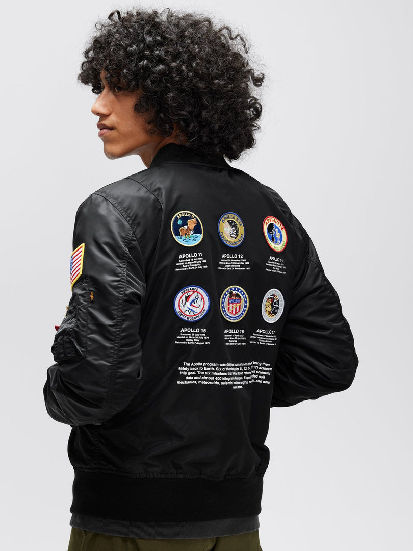 L-2B APOLLO II BOMBER JACKET OUTERWEAR Alpha Industries, Inc.