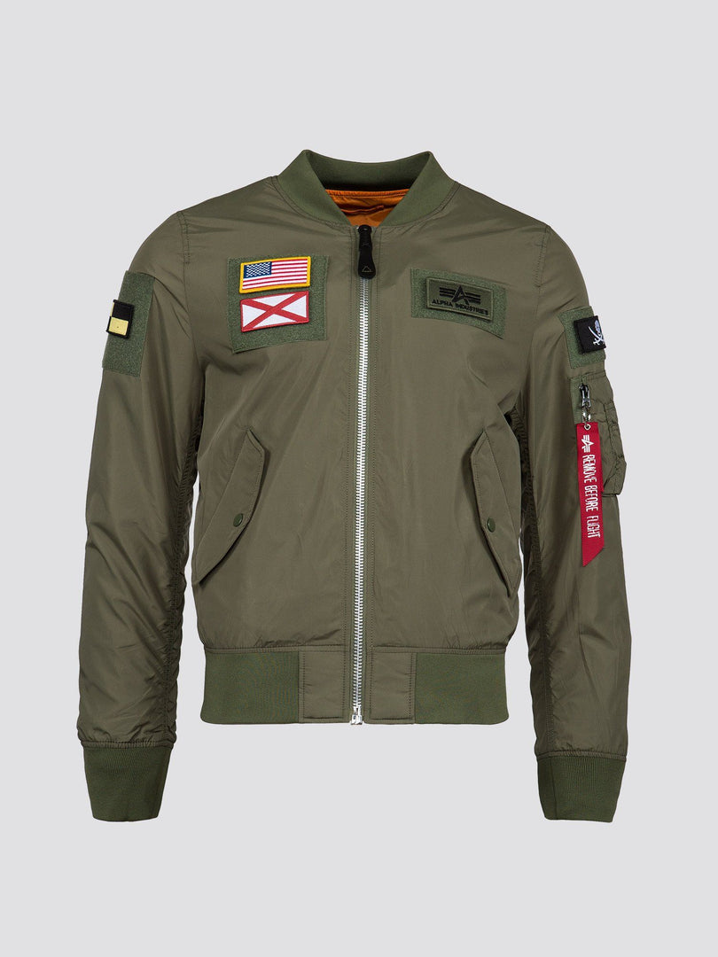L-2B FLEX W FLIGHT JACKET SALE Alpha Industries SAGE M