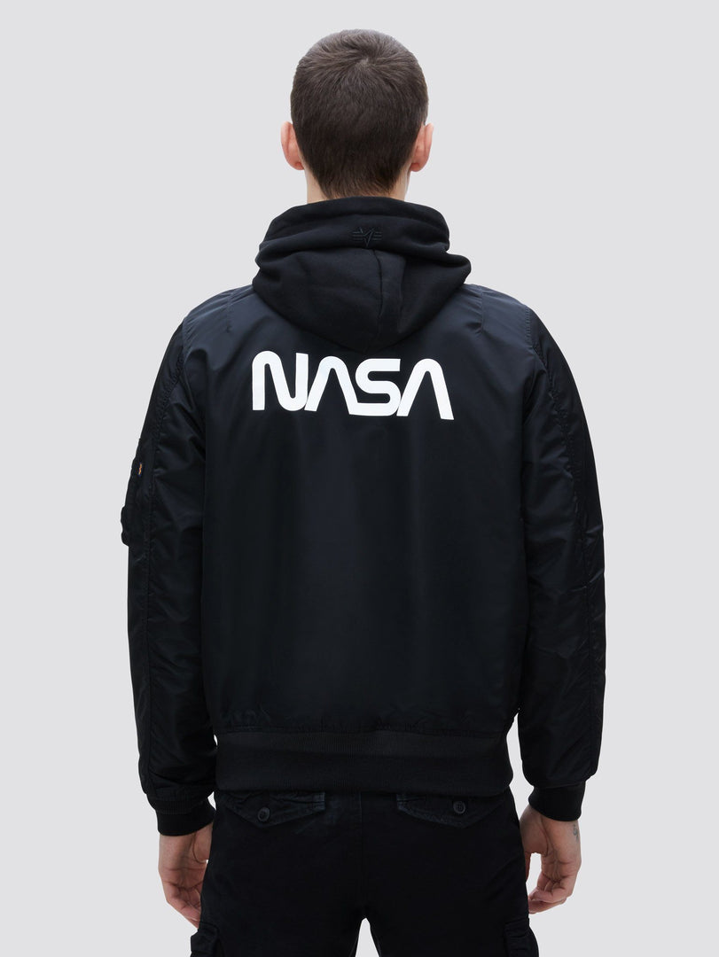L-2B HOODED NASA II BOMBER JACKET OUTERWEAR Alpha Industries, Inc.