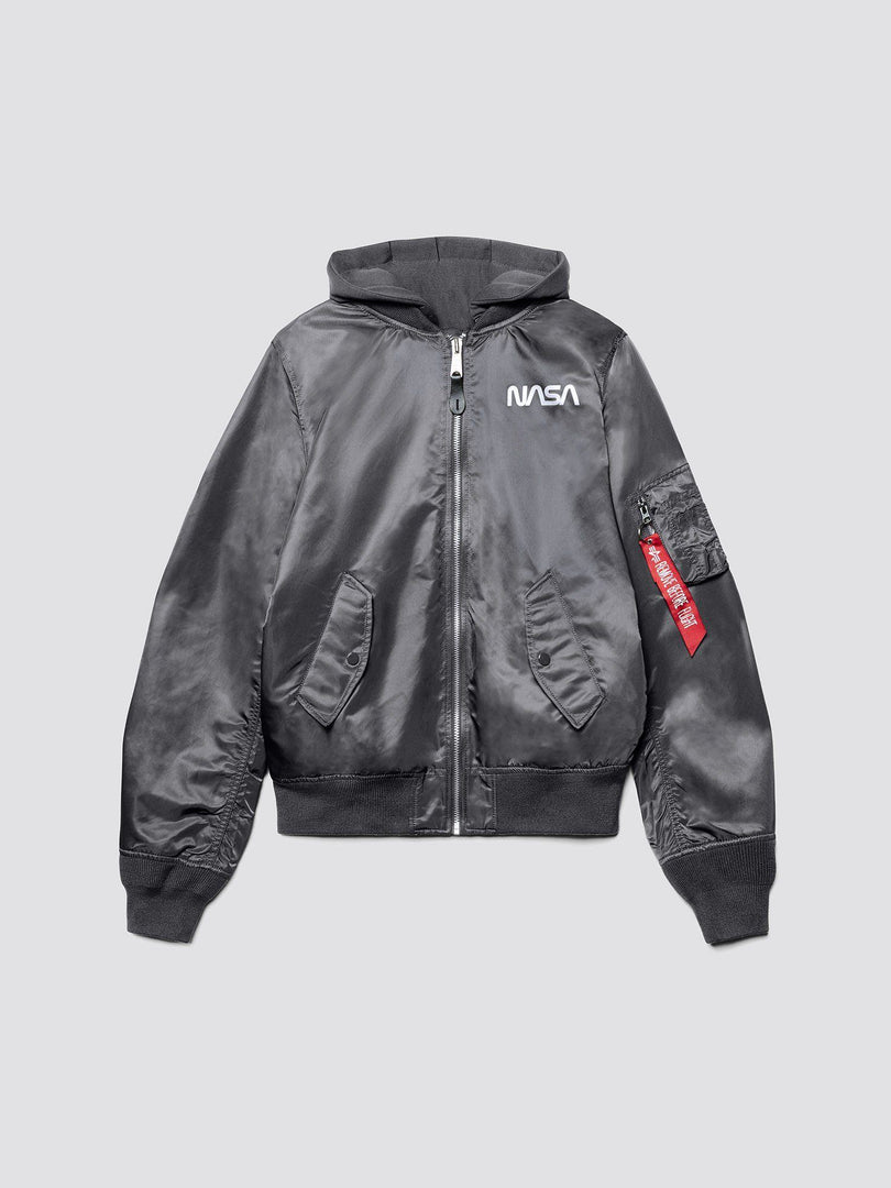 L-2B HOODED NASA II BOMBER JACKET (SEASONAL) SALE Alpha Industries, Inc.