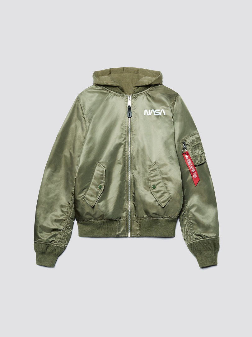 L-2B HOODED NASA II BOMBER JACKET W (SEASONAL) SALE Alpha Industries, Inc.