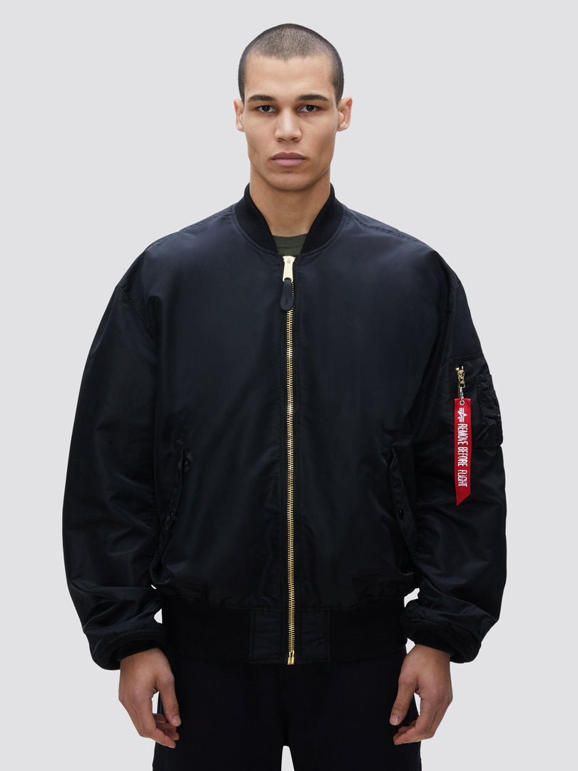 L-2B LOOSE BOMBER JACKET OUTERWEAR Alpha Industries BLACK 2XL