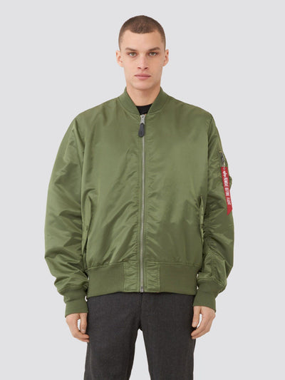 L-2B LOOSE BOMBER JACKET OUTERWEAR Alpha Industries SAGE 2XL