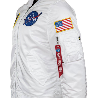 L-2B NASA MEN'S BOMBER JACKET OUTERWEAR Alpha Industries