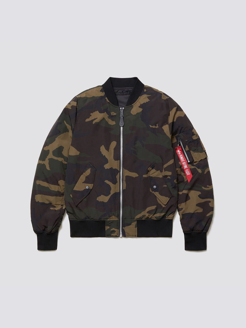 L-2B SCOUT BOMBER JACKET OUTERWEAR Alpha Industries DARK WOODLAND CAMO 2XL