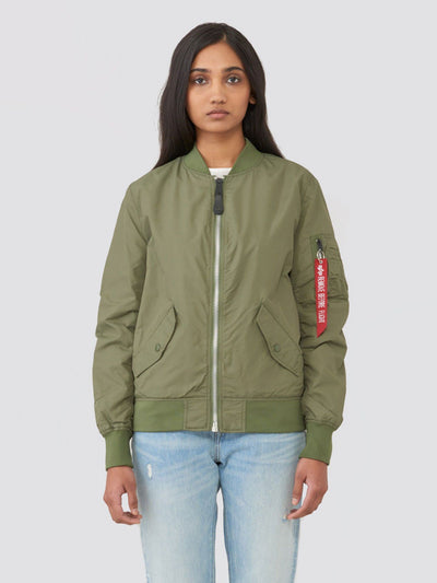 L-2B SCOUT W BOMBER JACKET OUTERWEAR Alpha Industries SAGE GREEN L