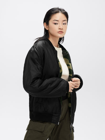 L-2B SHERPA BOMBER JACKET W OUTERWEAR Alpha Industries