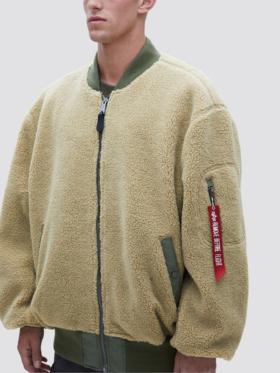 L-2B SHERPA LOOSE BOMBER JACKET SALE Alpha Industries