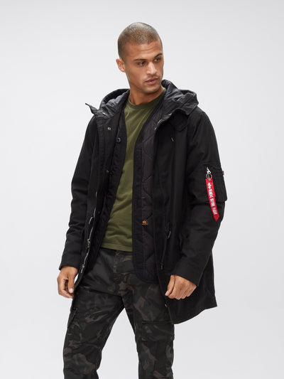 M-59 FISHTAIL PARKA OUTERWEAR Alpha Industries BLACK 2XL