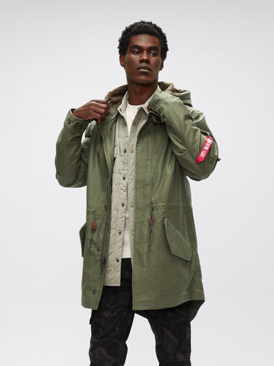 M-59 FISHTAIL PARKA OUTERWEAR Alpha Industries M-65 OLIVE 2XL