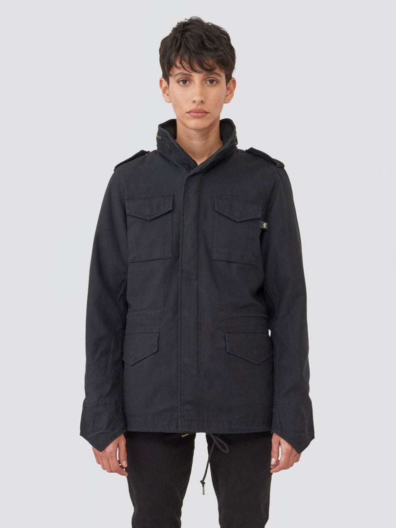 M-65 DEFENDER W FIELD COAT OUTERWEAR Alpha Industries BLACK L
