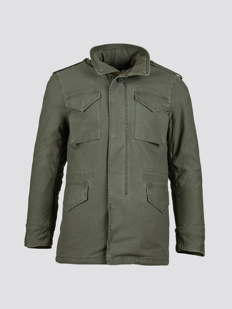 M-65 DEFENDER W FIELD COAT (SEASONAL) SALE Alpha Industries M-65 OLIVE XS