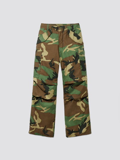 M-65 FIELD PANTS BOTTOM Alpha Industries, Inc. WOODLAND CAMO ML
