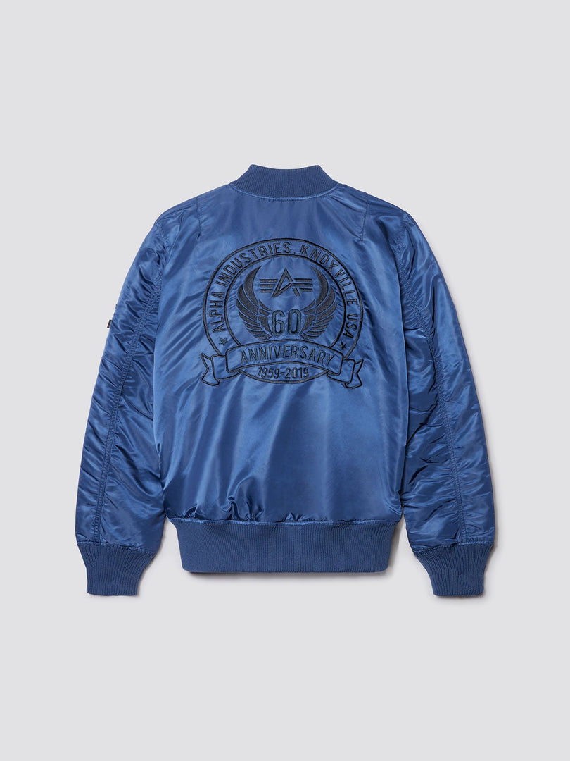 MA-1 60TH ANNIVERSARY BOMBER JACKET OUTERWEAR Alpha Industries NEW NAVY 3XL