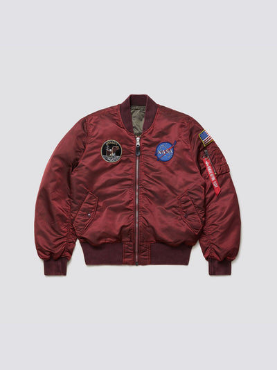 MA-1 APOLLO BATTLEWASH BOMBER JACKET OUTERWEAR Alpha Industries